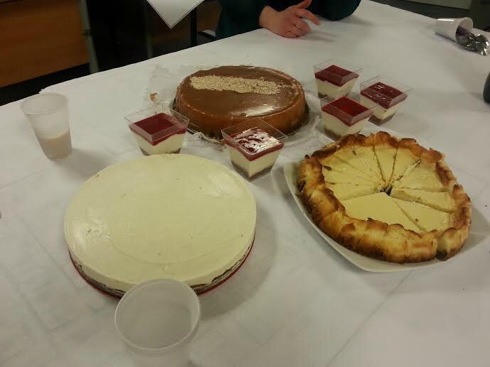 Concours cheesecakes entre collègues