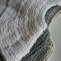 Brassière tricotée main -lin/coton- 35€