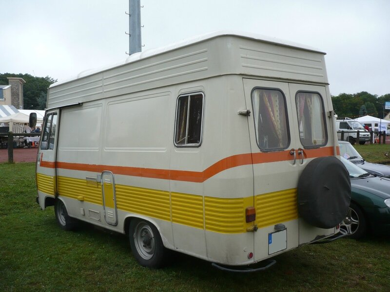peugeot j7 fourgon sur lev am nag camping car 1977 vroom vroom. Black Bedroom Furniture Sets. Home Design Ideas
