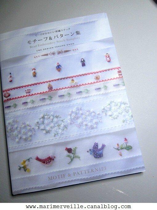 Livre Motif & pattern 123 - Marimerveille