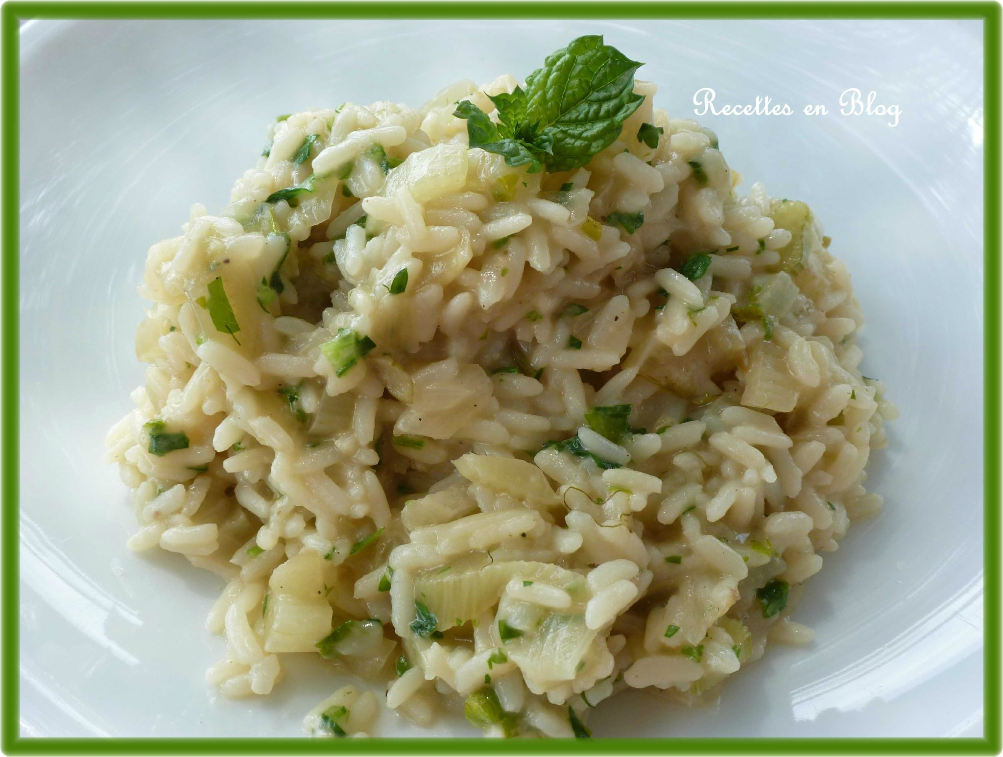 risotto au fenouil et au parmesan recettes en blog. Black Bedroom Furniture Sets. Home Design Ideas