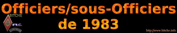 OFFICIERS sous OFFICIERS de BITCHE 1983a
