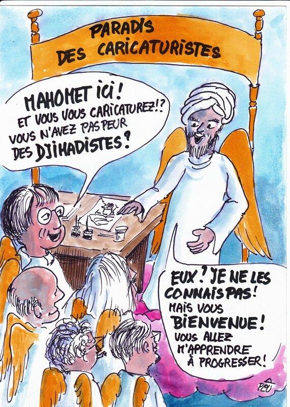 Mahomet ne connaît pas les djihadistes