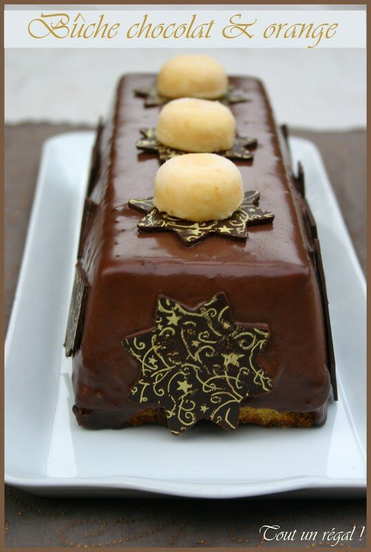 recette de buche de noel dans un moule a cake. Black Bedroom Furniture Sets. Home Design Ideas