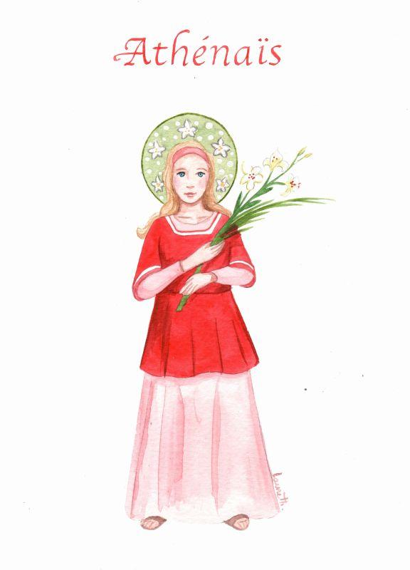Sainte Arthélaïs (ou Athenaïs)