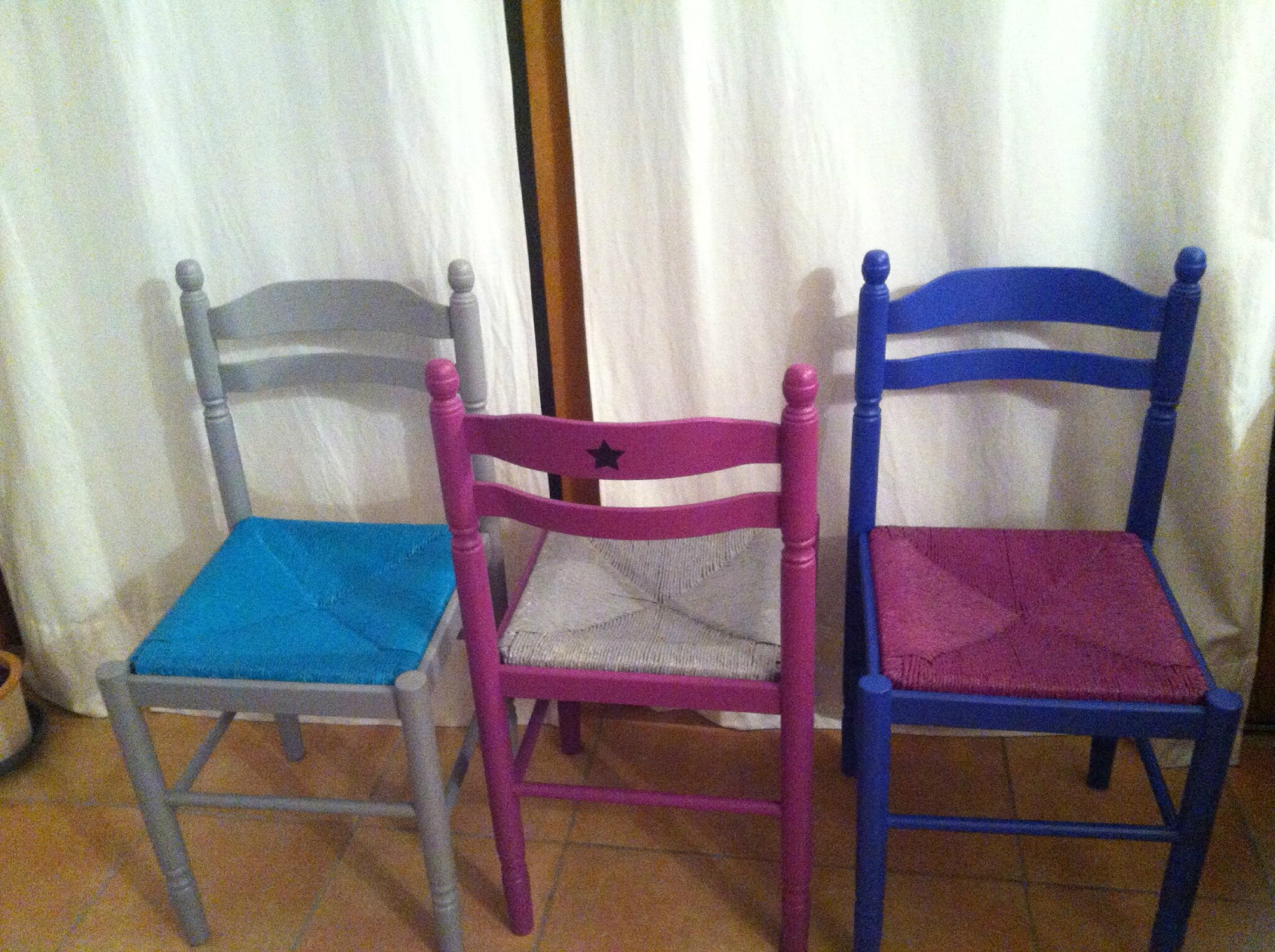 Au Pays De Lougo For Moderniser Une Chaise En Paille