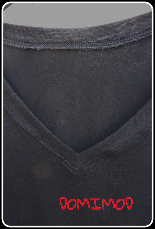 T-shirt noir Domi 2