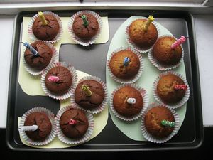 3 - Muffins 50 ans