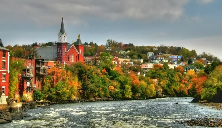 Berlin, New Hampshire-rivière
