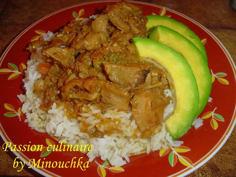 Fricass de lambi plat cr ole passion culinaire by - Cuisine antillaise martinique ...