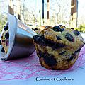 American junk food : big-muffin aux baies noires