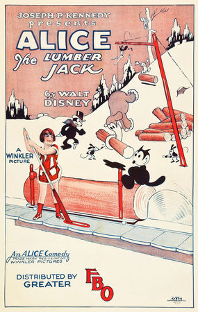1926___ALICE_THE_LUMBER_JACK___Walt_Disney