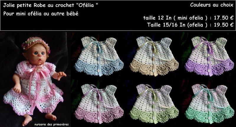 robe mini ofelia variantes
