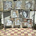 Exposition chez christine gatuing-clabé, atelier terranay