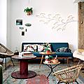Vintage ❤ intérieur de sandrine, créatrice de neëst