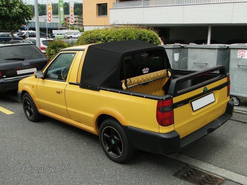 Skoda Felicia Pickup Oldiesfan67 Quot Mon Blog Auto Quot