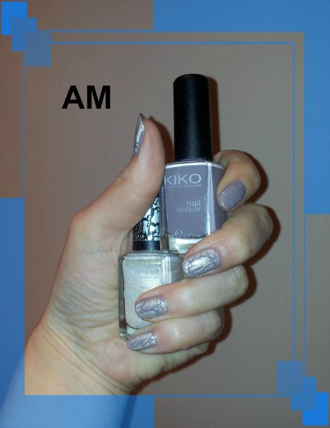 taupe crackle beige