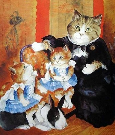 5 Les chats de Susan Herbert série 5 (12)