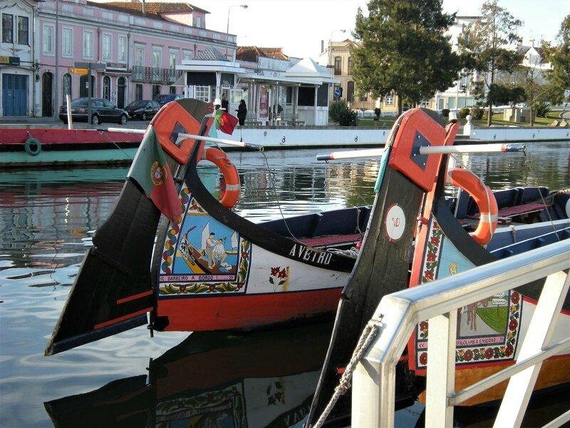 portugal Aveiro gondoles-moliceiros