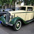 Chenard & Walcker aiglon coupé coach de 1934 (Retrorencard aout 2010)