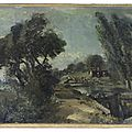 Rediscovered sketch for constable masterpiece offered at bonhams old master sale