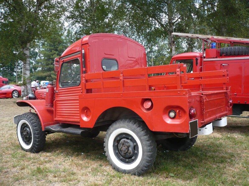 DODGE WC-51 avec cabine Citroën HY véhicule de pompiers Ohnenheim (2)