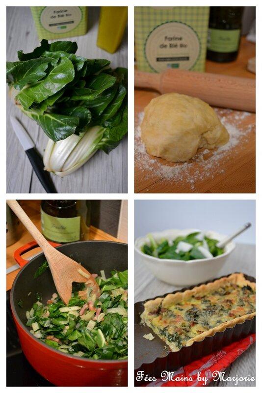 Tarte aux blettes, lardons et parmesan1