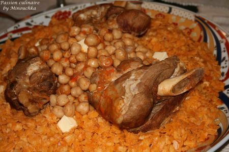 Tchakhchoukha sp cialit alg rienne par tapes passion culinaire by minouchka - Cuisine algerienne traditionnelle ...