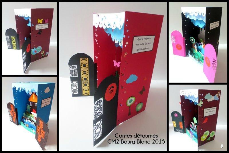 Projet Contes en dioramas CE2 CM1 CM2 Bourg Blanc 20152