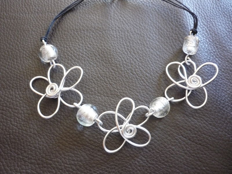 collier orchidee