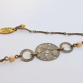 Bracelet Estampe beige - Nadja CARLOTTI