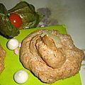 Recettes rochers meringués à la noix de coco râpée