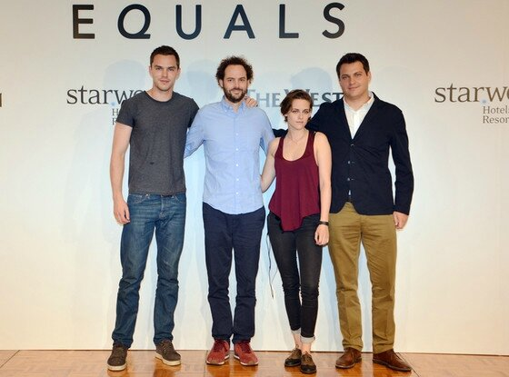 Kristen Stewart, Nicholas Hoult & Drake Doremus Equals Korea Photocall