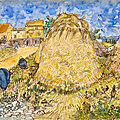 Christie's offers van gogh's 'mueles de blé' - poised to set an auction record for a work on paper by the artist