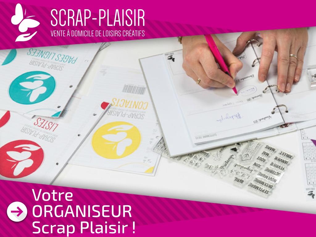 Nouveauté Agenda 2015-2016 Scrap Plaisir