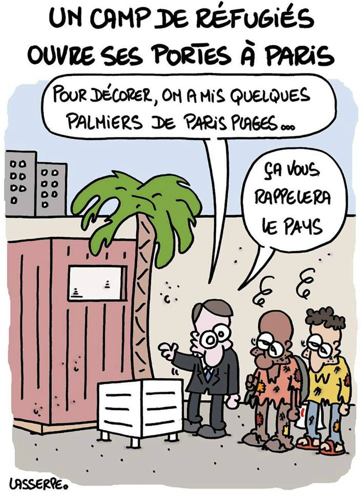 ps hollande paris hidalgo humour immigration