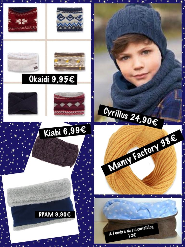 Perso, moi j aime beaucoup l ensemble Verbaudet pour fille avec le beret et  son p tit noeud, snood et gants assortis, et côté garçon, ceux de Kiabi ont  ... 8d4de61a96e