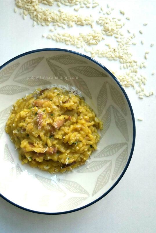 risotto-cèpes-pancetta