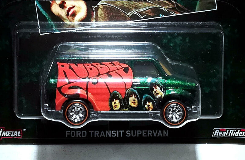 Ford Transit Supervan (The beatles) Hotwheels 01