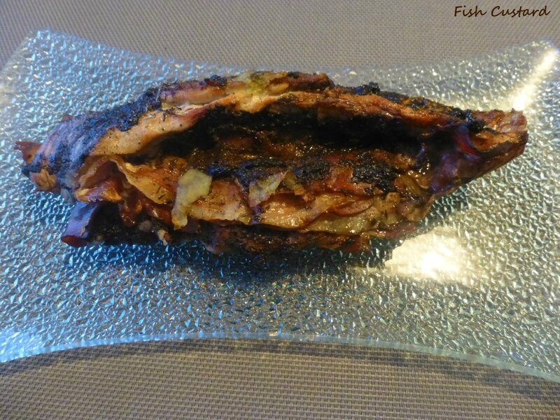 Filet mignon farci à la tapenade d'olives noires et jambon cru fumé (5)