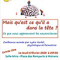 Conférence neurosciences et jeunes enfants