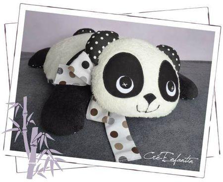 Coussin Panda 02-600