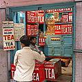 Varanasi, tea shop