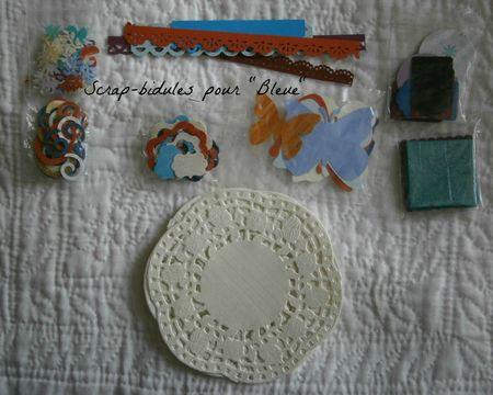 Scrapbidules pour Bleue