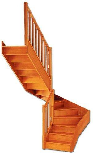 Escalier - De chez LAPEYRE en bois Exotique - Ma maison en Aveyron