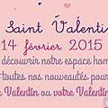 La saint valentin à la boutique éphémère de sylvette