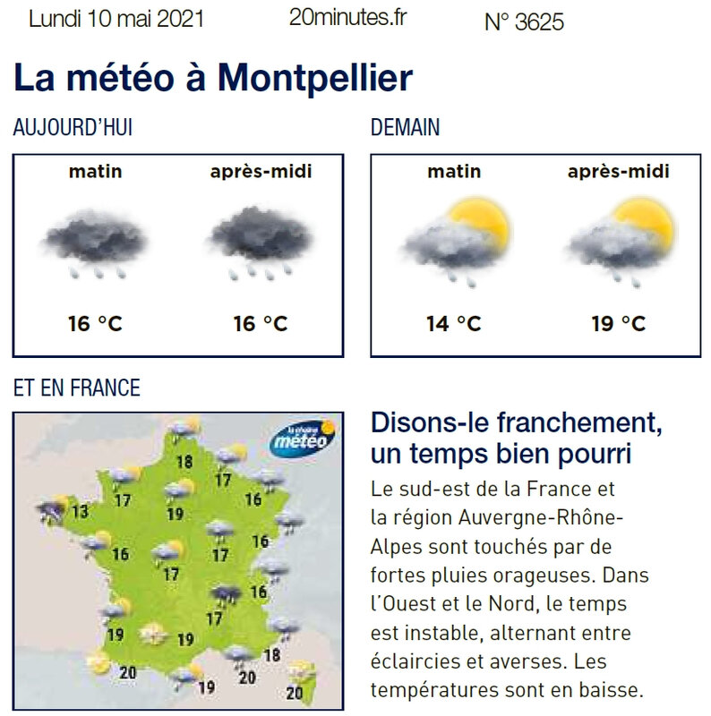 20MinutesMeteopourrie