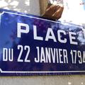 La Poitevinière (49), place du 22 janvier 1794