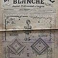 La broderie blanche n° 226 - 15 janvier 1919