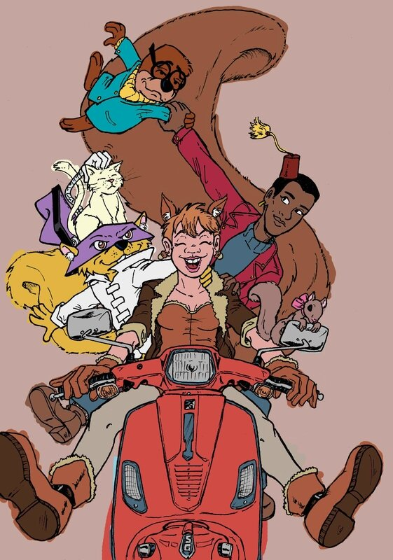 Scooter-Squirrel-girl